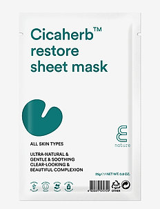E NATURE Cicaherb restore Sheet Mask - CLEAR
