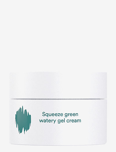 E NATURE Squeeze green watery  Gel Cream - CLEAR
