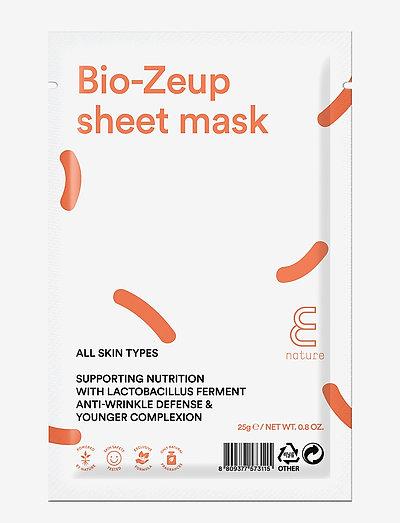 E NATURE Bio-Zeup Sheet Mask - CLEAR