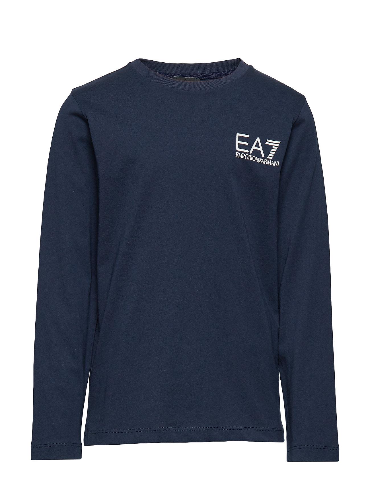Image of T-Shirt T-Langærmet Skjorte Blå EA7 (3204841363)