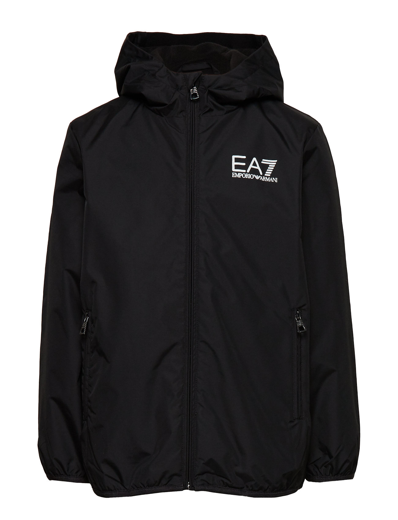 EA7 JACKETS - BLACK