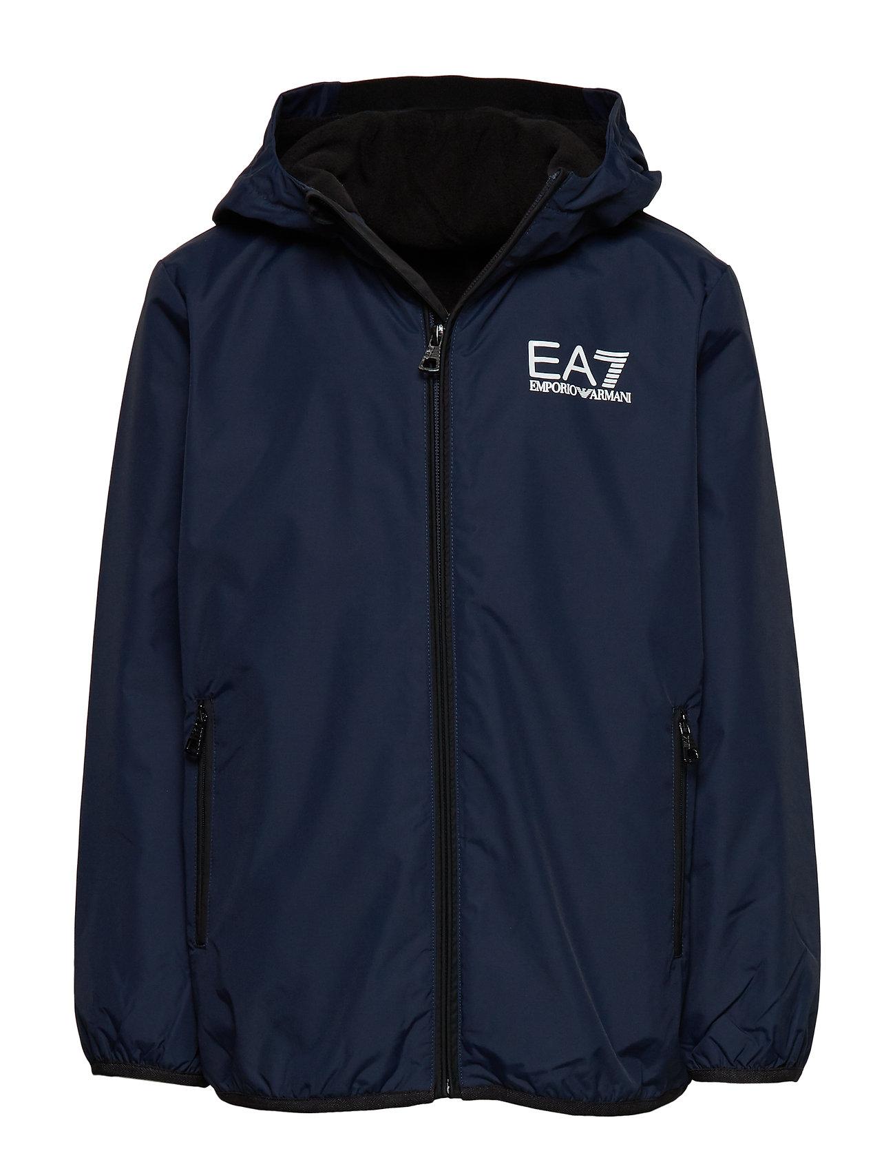 EA7 JACKETS - NAVY BLUE