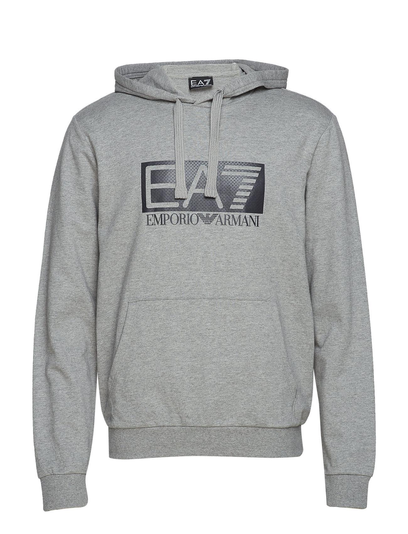 EA7 FELPA - MEDIUM GREY MEL