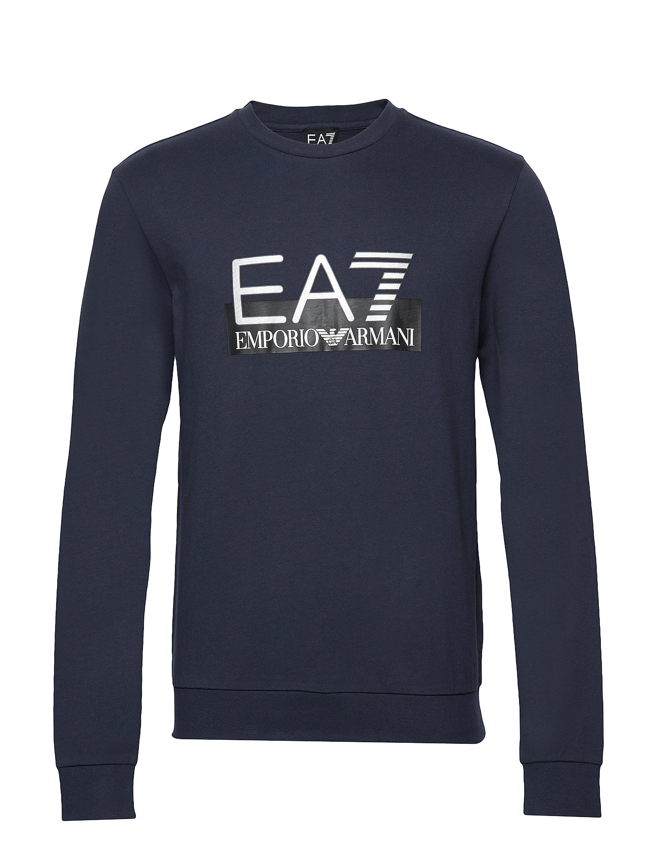 EA7 R/N SWEATSHIRT - NAVY BLUE
