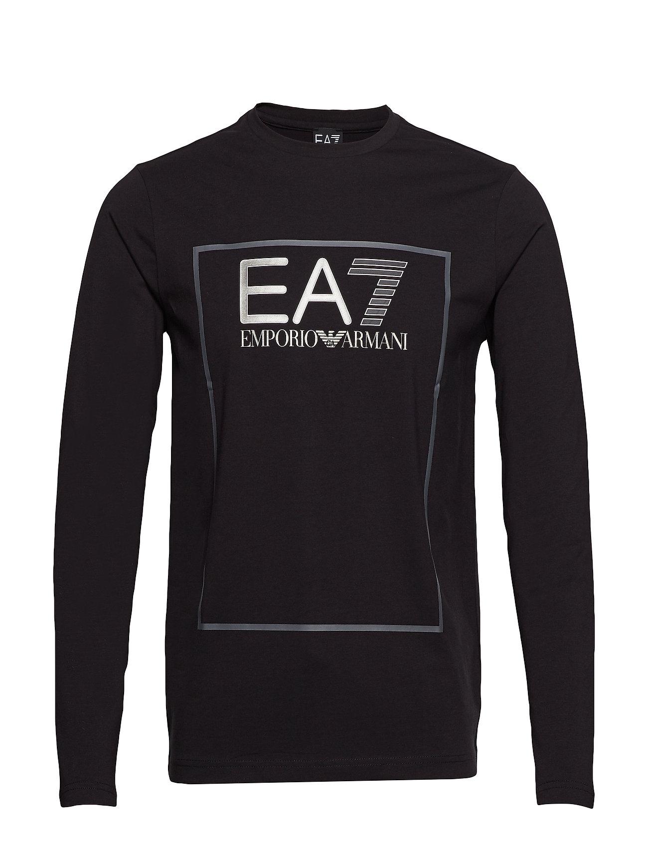 EA7 L/S T-SHIRT - BLACK
