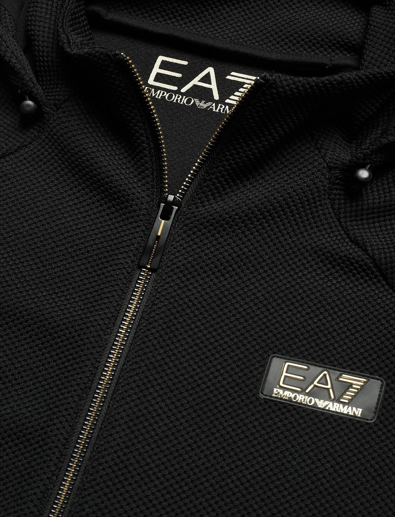 EA7 SWEATSHIRT - Sweatshirts BLACK - Menn Klær
