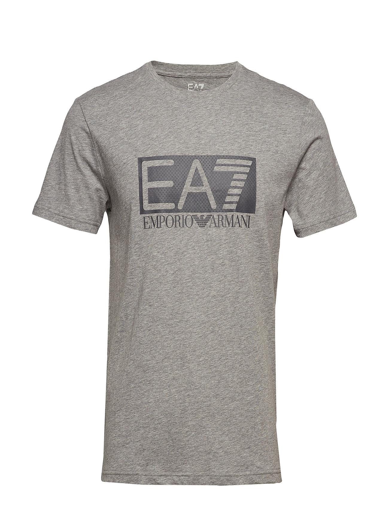 EA7 T-SHIRT - MEDIUM GREY MEL