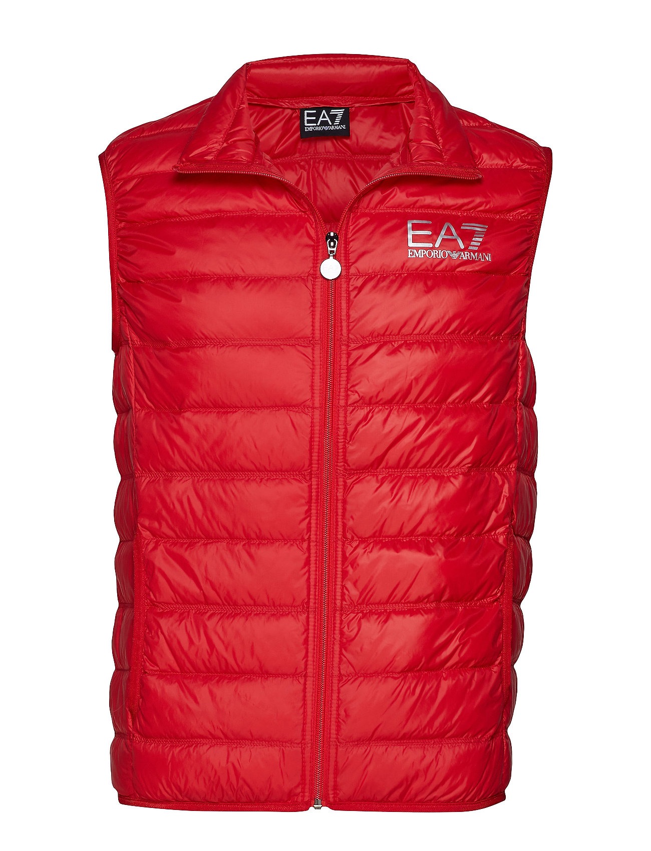 EA7 GILET PIUMINO - RACING RED