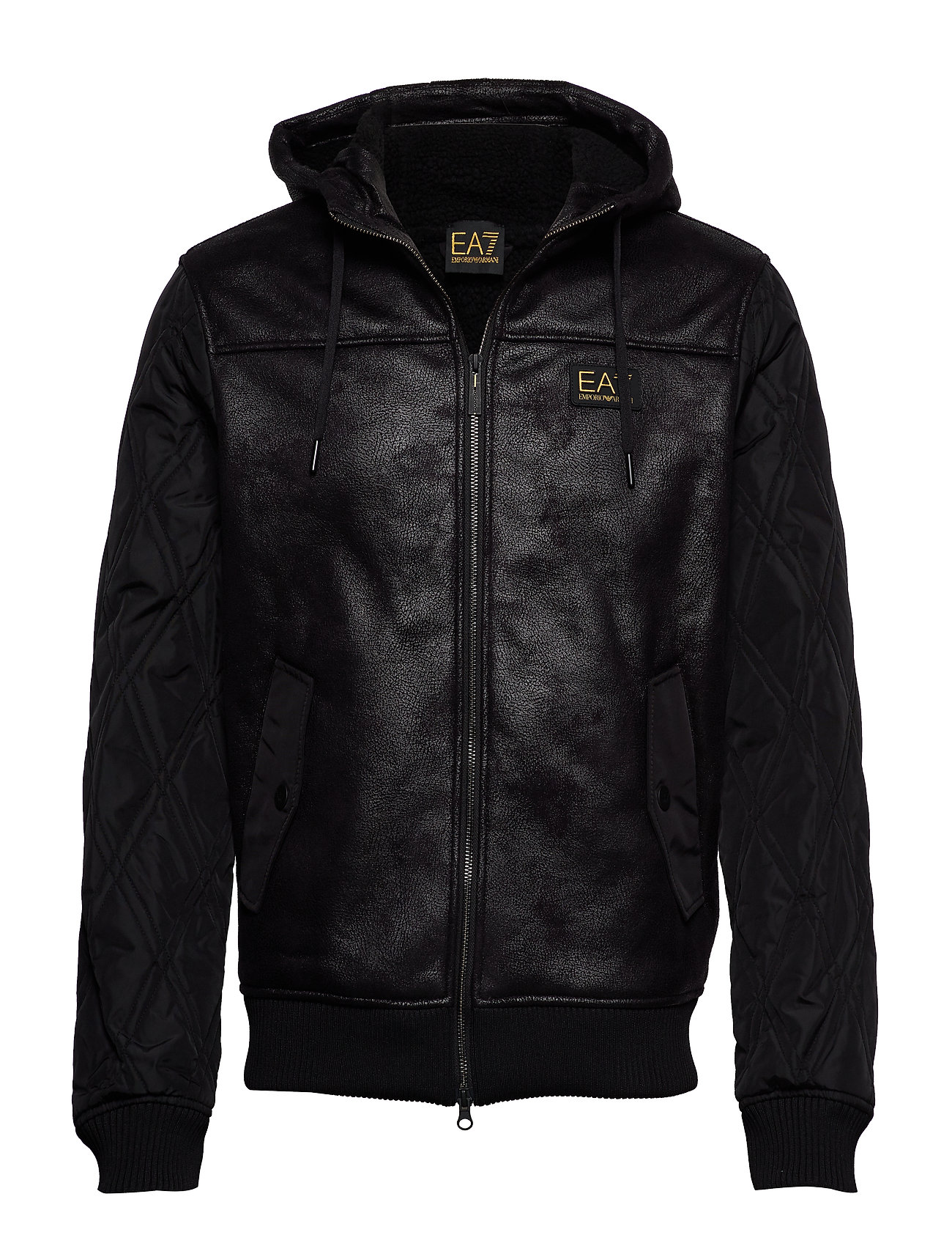 EA7 JACKET - BLACK