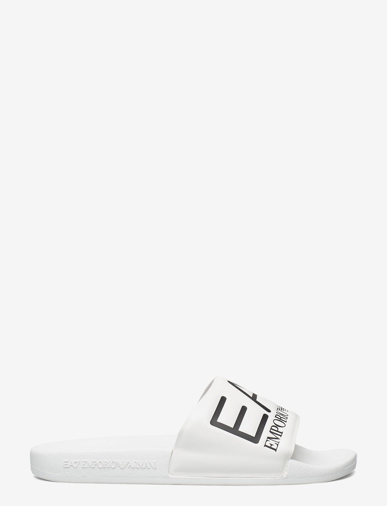 EA7 - SLIPPER VISIBILITY S - pool sliders - white - 1