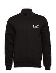 ZIP SWEATSHIRT - BLACK