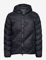 EA7 - DOWN JACKET - fodrade jackor - black - 0