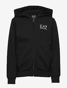 Hoodie zip sweatshirt - BLACK
