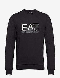 R/N SWEATSHIRT - BLACK