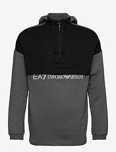 SWEATSHIRT - hoodies - dark grey mel
