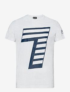 T-SHIRT - lyhythihaiset - white