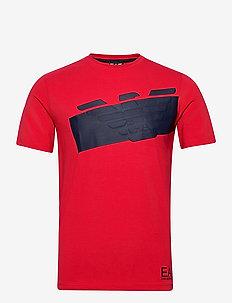 T-SHIRT - kortermede t-skjorter - racing red