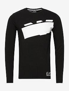T-SHIRT - langærmede t-shirts - black