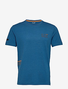 T-SHIRT - basis-t-skjorter - blue opal