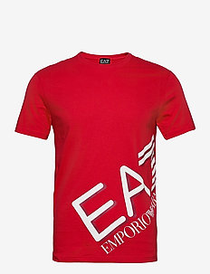 T-SHIRT - lyhythihaiset - racing red