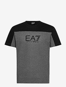 T-SHIRT - kortermede t-skjorter - dark grey mel