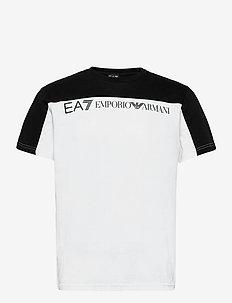 T-SHIRT - kortermede t-skjorter - white