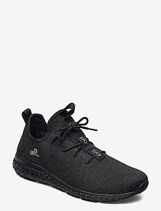 SNEAKER - lave sneakers - triple black
