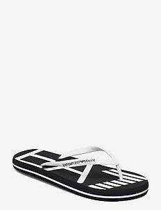 FLIP FLOP - klip-klapper - black+white