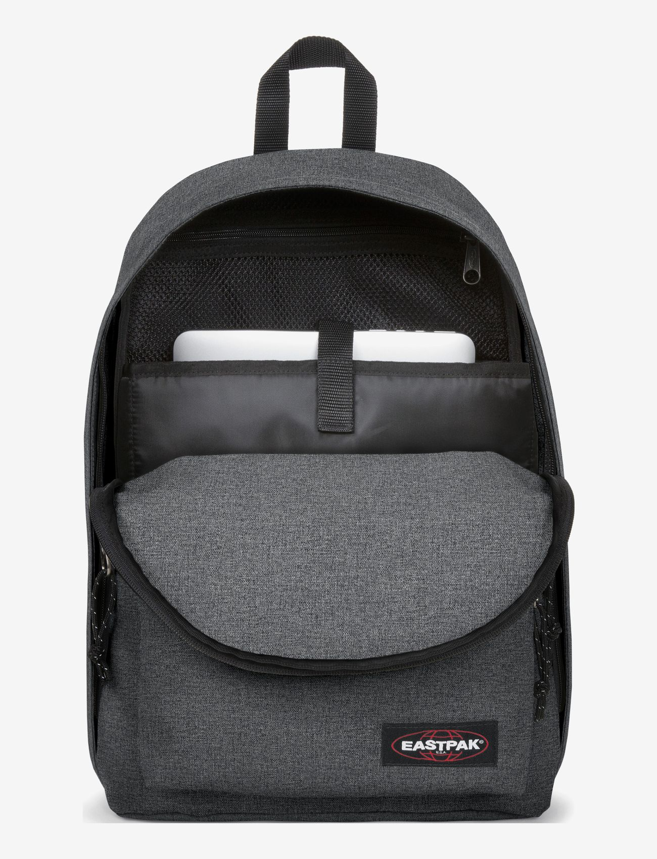 Eastpak - OUT OF OFFICE - ryggsäckar - black denim - 1