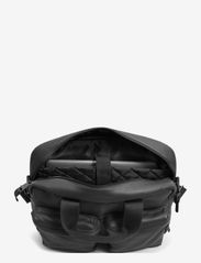Eastpak - TOMEC - datavesker - black leather - 1