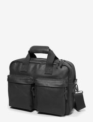 Eastpak - TOMEC - laptoptaschen - black leather - 3