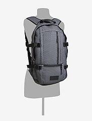 Eastpak - FLOID - backpacks - black mesh - 6