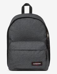 Eastpak - OUT OF OFFICE - ryggsäckar - black denim - 0