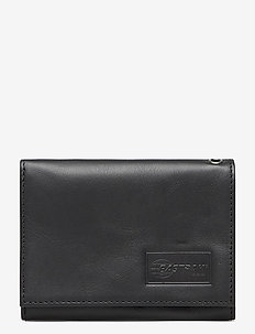 CREW RFID - porte-monnaies - black ink leather