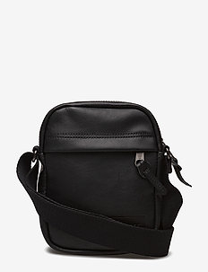 THE ONE - schultertaschen - black ink leather