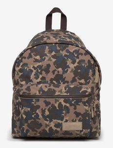 PADDED PAK'R - backpacks - camo suede