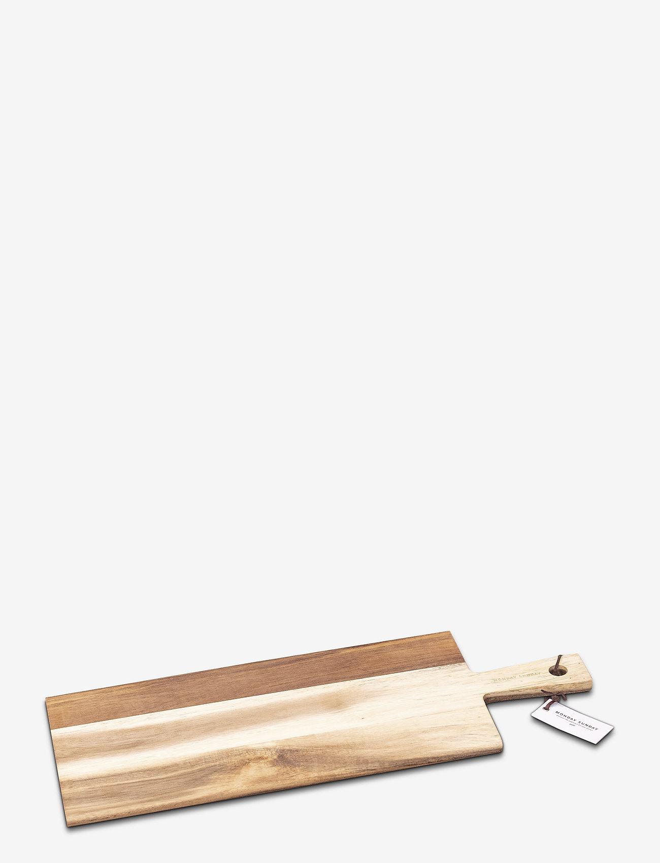 Monday Sunday - Grith Serving Board - planches à découper - akacie - 0