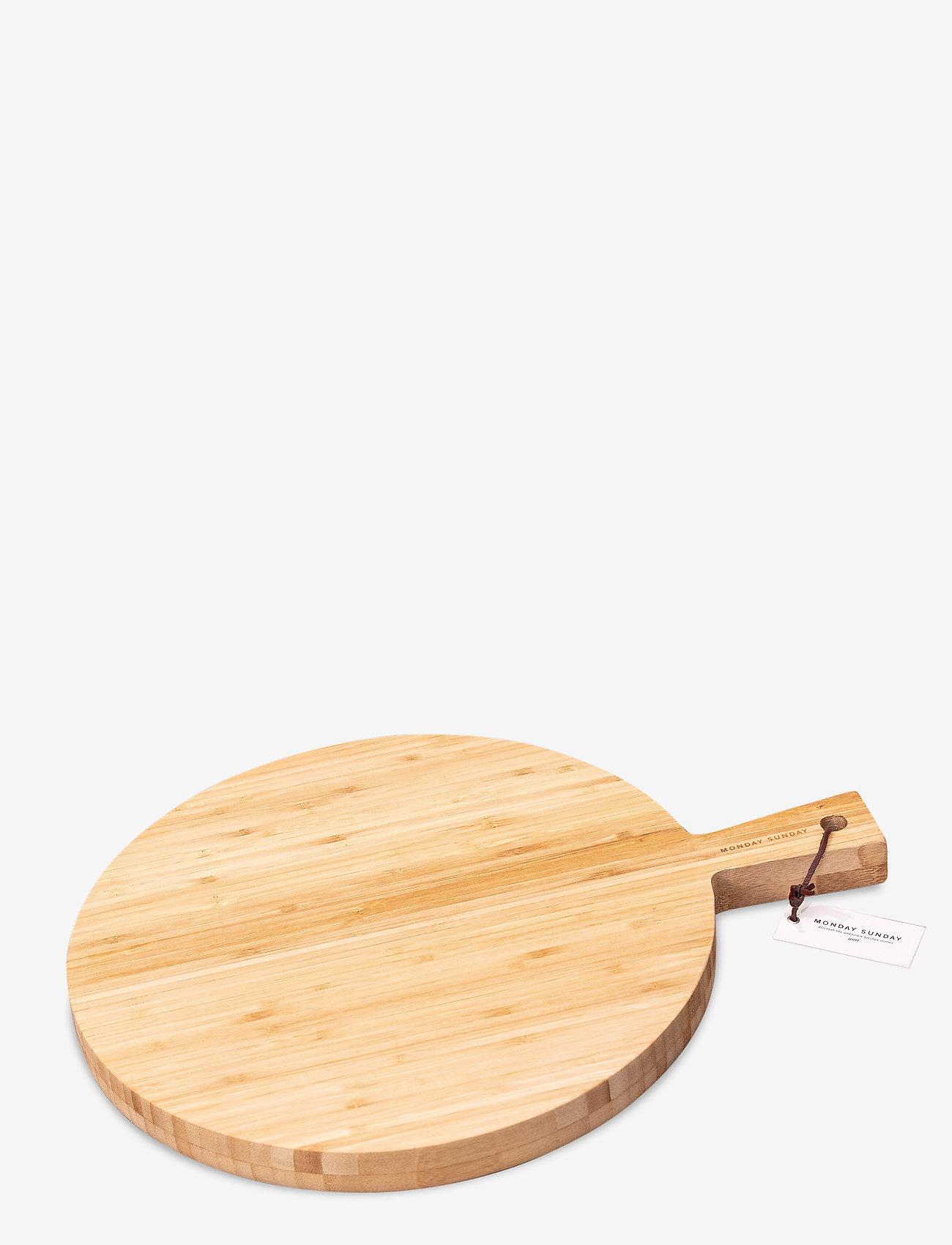 Monday Sunday - Ginna Serving Board - planches et sets à tapas - bambus - 0