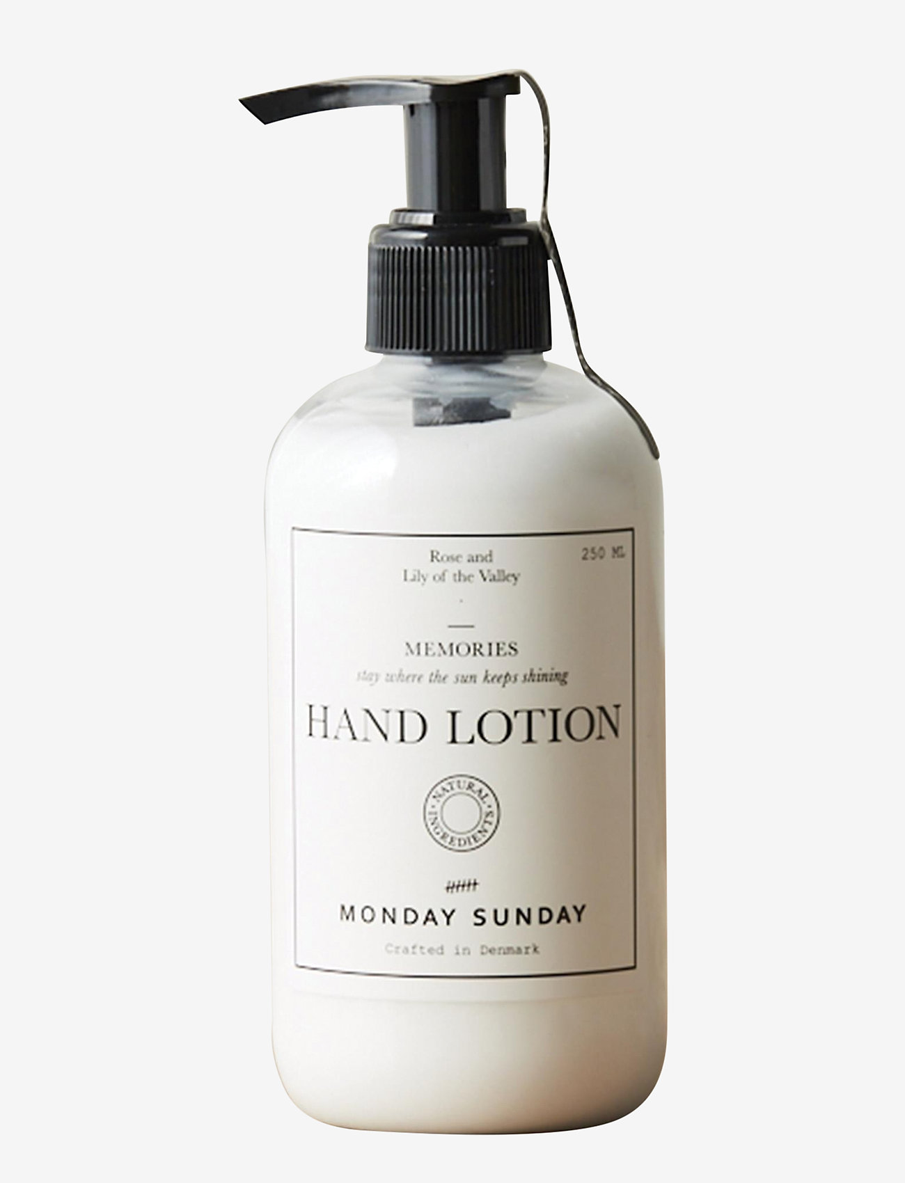 Monday Sunday - Memories Hand Lotion - hands & feet - clear - 0