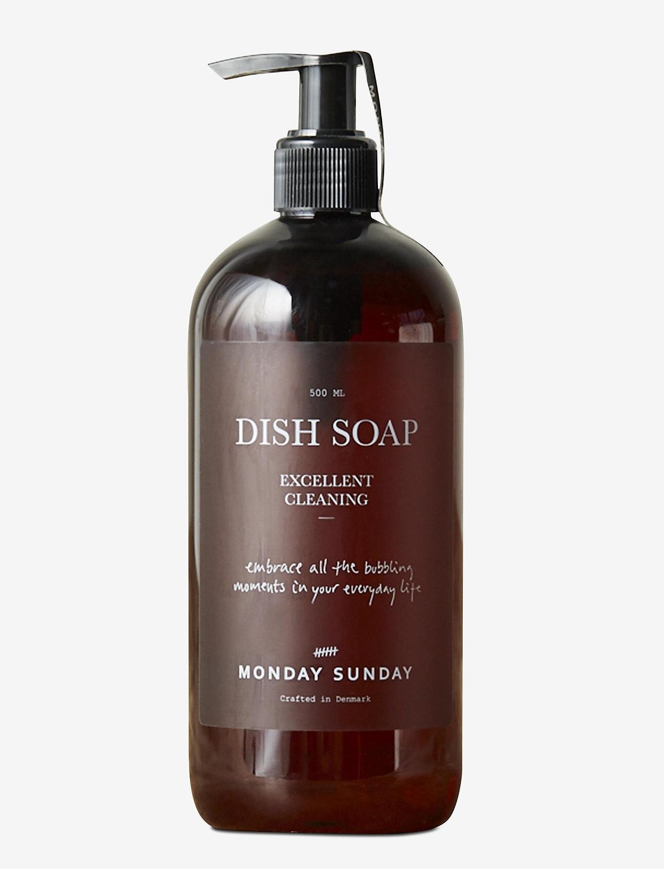 Monday Sunday - Moments Dish Soap 500 ml - produits de vaisselles - clear - 0
