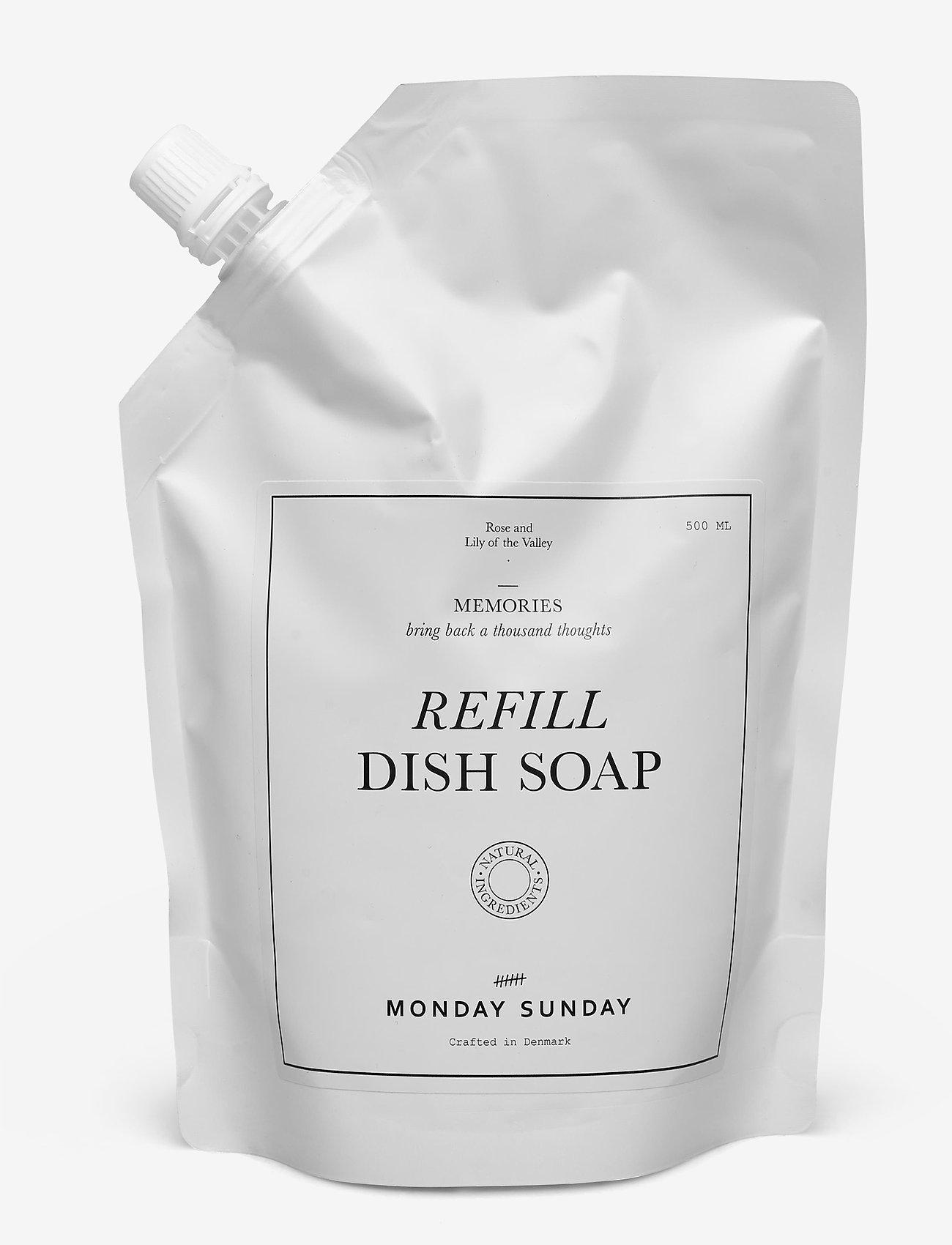 Monday Sunday - Memories Refill Dish Soap - produits de vaisselles - clear - 0