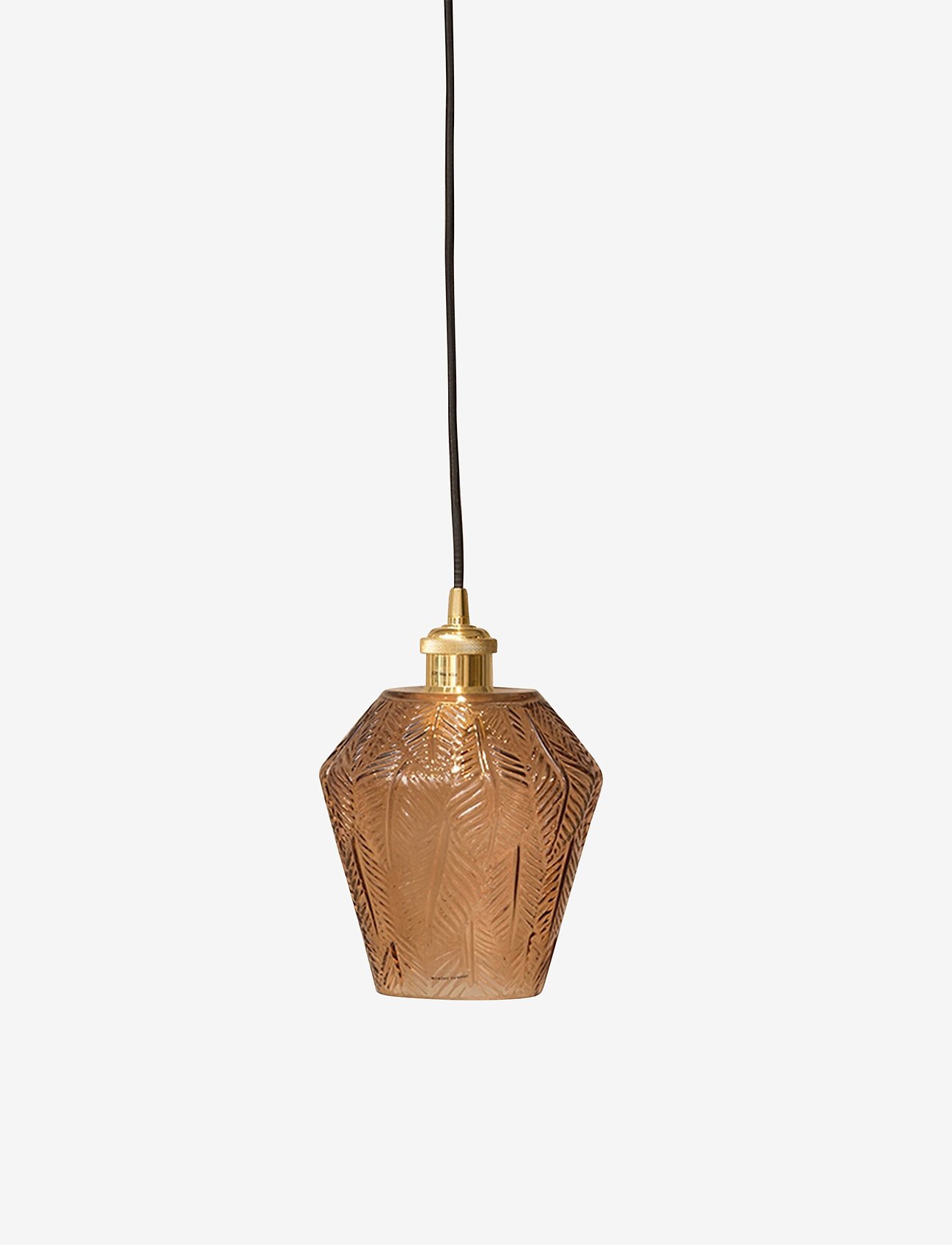 Monday Sunday - Norma Lamp - lampes suspendues - amber - 0