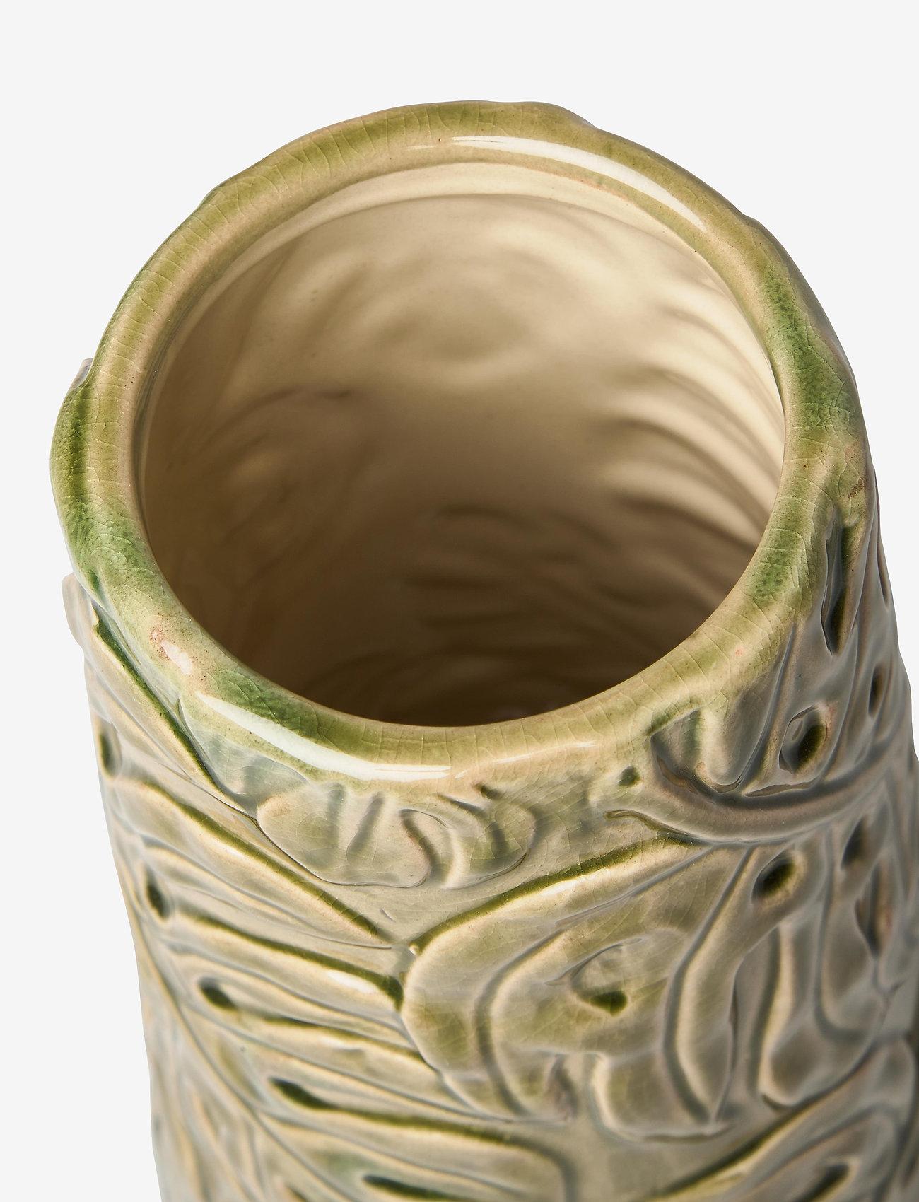Monday Sunday - Rebecca Vase - vases - green - 1