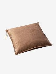 Beate Velour Pillow - GREY