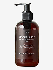 Monday Sunday - Moments Hand Soap - handtvål - brown - 0
