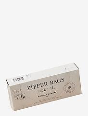 Monday Sunday - Zipper Bags Small - autres ustensiles de cuisine - clear - 0