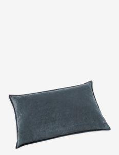 Beate Velour Pillow - kussens - blue