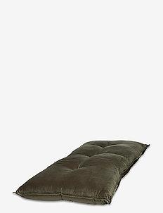 Brit velour Floor Cushion - kuddar - green