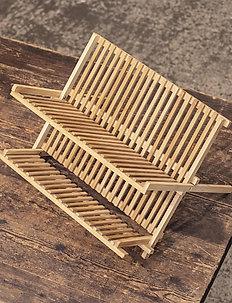 Erika Dish Rack - diskställ - bambus