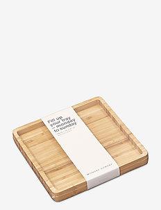 Hella Tray - planches et sets à tapas - bambus